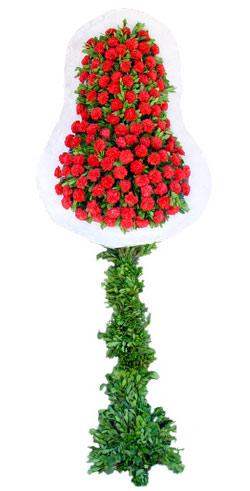 Dügün nikah açilis çiçekleri sepet modeli  Aksaray İnternetten çiçek siparişi