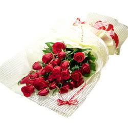 Çiçek gönderme 13 adet kirmizi gül buketi  Aksaray çiçek satışı
