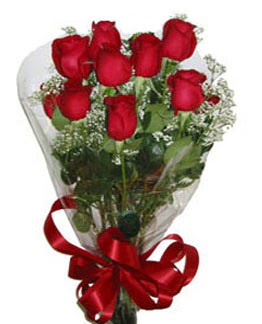 Çiçek sade gül buketi 7 güllü buket  Aksaray online çiçek gönderme sipariş