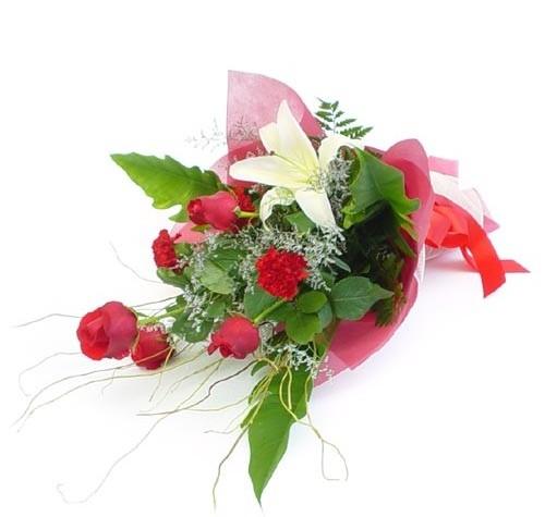 Mevsim çiçeklerinden karisik buket  Aksaray cicek , cicekci