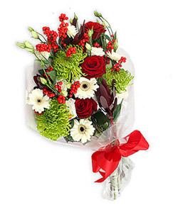 Karisik mevsim buketi çiçek tanzimi  Aksaray internetten çiçek siparişi