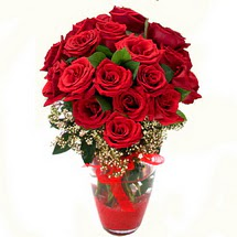 Aksaray çiçek siparişi sitesi   9 adet kirmizi gül