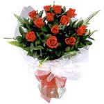 Aksaray çiçek , çiçekçi , çiçekçilik  9 adet güzel bir gül buketi