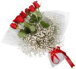 7 adet kirmizimi kirmizi gül buketi  Aksaray hediye sevgilime hediye çiçek