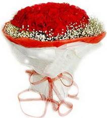 Aksaray çiçekçiler  41 adet kirmizi gül buketi