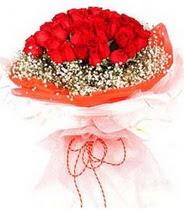 Aksaray hediye sevgilime hediye çiçek  21 adet askin kirmizi gül buketi
