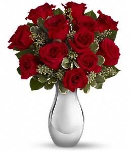 Aksaray çiçek siparişi vermek   vazo içerisinde 11 adet kırmızı gül tanzimi