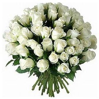 Aksaray çiçek servisi , çiçekçi adresleri  33 adet beyaz gül buketi