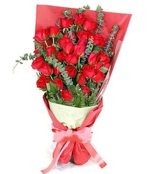 Aksaray çiçek gönderme  37 adet kırmızı güllerden buket
