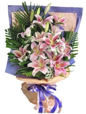 7 dal kazablankadan görsel buket  Aksaray kaliteli taze ve ucuz çiçekler