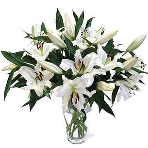 Aksaray çiçekçi telefonları  3 dal görsel casablanca vazo tanzimi
