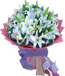 7 dal cazablanca görsel buketi  Aksaray çiçekçi mağazası
