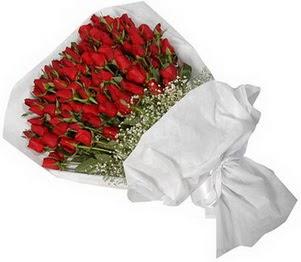 Aksaray İnternetten çiçek siparişi  51 adet kırmızı gül buket çiçeği
