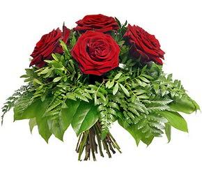 Aksaray çiçek mağazası , çiçekçi adresleri  5 adet kırmızı gülden buket