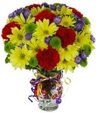 En güzel hediye karışık mevsim çiçeği  Aksaray hediye çiçek yolla