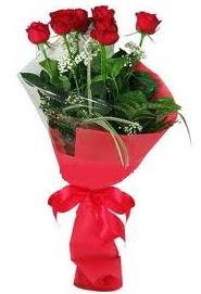 Çiçek yolla sitesinden 7 adet kırmızı gül  Aksaray internetten çiçek satışı