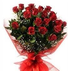 İlginç Hediye 21 Adet kırmızı gül  Aksaray internetten çiçek siparişi