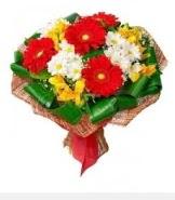 1 demet karışık buket  Aksaray hediye sevgilime hediye çiçek