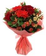 karışık mevsim buketi  Aksaray internetten çiçek siparişi