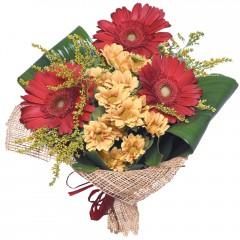 karışık mevsim buketi  Aksaray çiçekçi mağazası