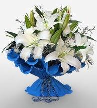 4 dal kazablanka çiçeğinden buket  Aksaray cicek , cicekci