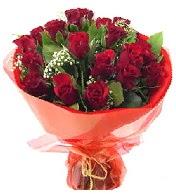 12 adet görsel bir buket tanzimi  Aksaray çiçek siparişi vermek