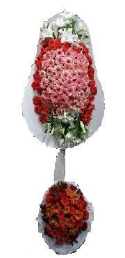 çift katlı düğün açılış sepeti  Aksaray internetten çiçek satışı