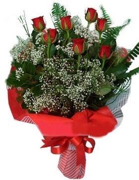 7 kırmızı gül buketi  Aksaray çiçek servisi , çiçekçi adresleri