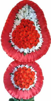 Aksaray online çiçek gönderme sipariş  Çift katlı kaliteli düğün açılış sepeti