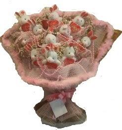 12 adet tavşan buketi  Aksaray çiçek mağazası , çiçekçi adresleri