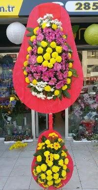 Çift katlı düğün nikah açılış çiçek modeli  Aksaray online çiçek gönderme sipariş