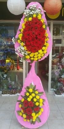 Çift katlı düğün nikah açılış çiçek modeli  Aksaray çiçekçiler