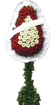 Çift katlı düğün nikah açılış çiçek modeli  Aksaray İnternetten çiçek siparişi