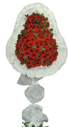Tek katlı düğün nikah açılış çiçek modeli  Aksaray cicekciler , cicek siparisi