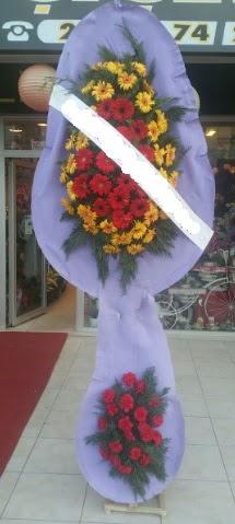 Çift katlı nikah düğüne çiçek modeli  Aksaray internetten çiçek siparişi