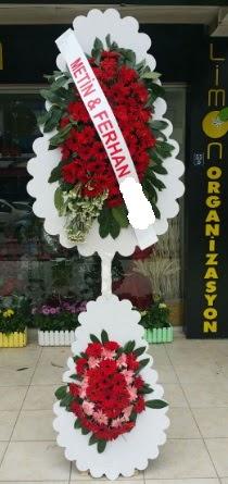 Çift katlı düğün nikah çiçeği modeli  Aksaray çiçek siparişi sitesi