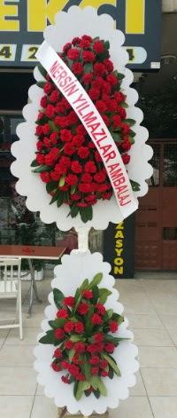 Çift katlı düğün nikah çiçeği modeli  Aksaray hediye çiçek yolla