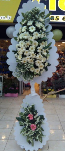Çift katlı düğün nikah açılış çiçeği  Aksaray çiçekçi telefonları