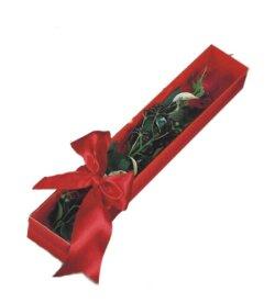 Aksaray çiçek online çiçek siparişi  tek kutu gül sade ve sik