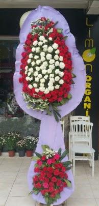 Çift katlı işyeri açılış çiçek modeli  Aksaray ucuz çiçek gönder