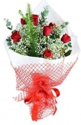 7 adet gülden kız arkadaşıma çiçek  Aksaray çiçekçi telefonları