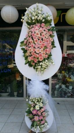 Çift katlı özel şahane sepet çiçeği  Aksaray çiçekçi telefonları
