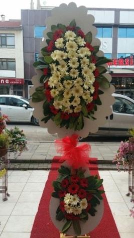 Çift katlı düğün açılış çiçeği  Aksaray çiçek satışı