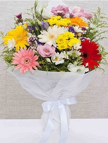 Karışık Mevsim Buketleri  Aksaray ucuz çiçek gönder