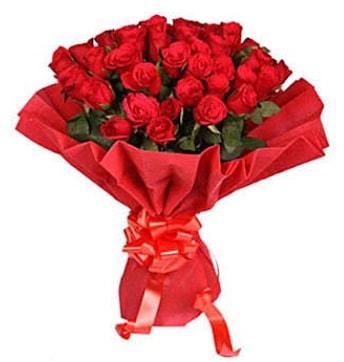 41 adet gülden görsel buket  Aksaray çiçek satışı
