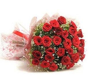 27 Adet kırmızı gül buketi  Aksaray ucuz çiçek gönder