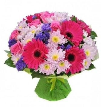 Karışık mevsim buketi mevsimsel buket  Aksaray çiçek satışı