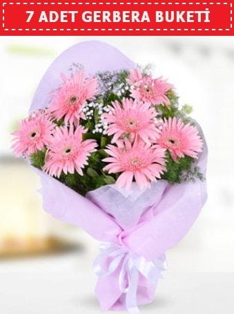Pembe Gerbera Buketi  Aksaray çiçek , çiçekçi , çiçekçilik